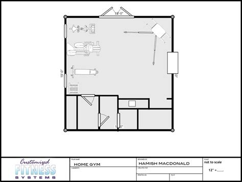 home gym layout planner gym floor plans customized fitness