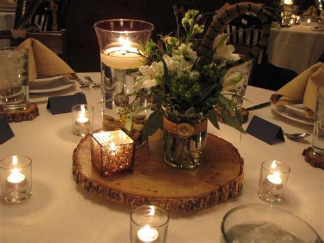 dinner centerpieces rehearsal dinner decorations wood and birch wedding