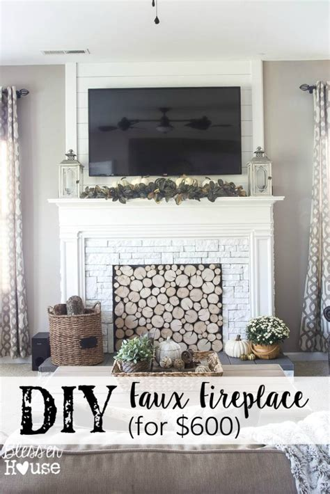 Faux Fireplace Entertainment Center by Diy Faux Fireplace Entertainment Center Part One Bless