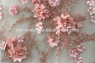 Embroidered Curtain Fabric 2016 3d Lace Flower Handwork Embroideryfrench Lace Fabric