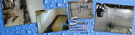 select basement waterproofing select basement waterproofing new jersey call 877 548 3889 basement waterproofing nj
