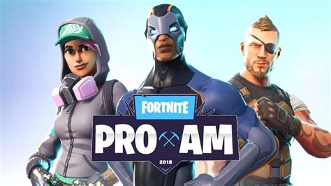 fortnite tournament fortnite pro am