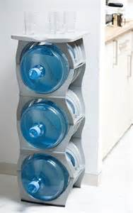 water bubbles three water cooler bottle rack with shelf