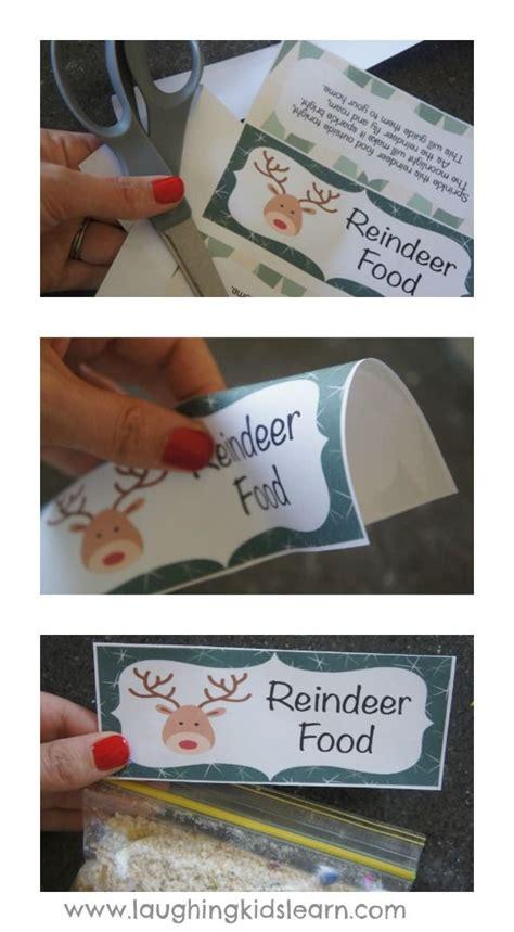 free printable reindeer food bag topper 17 best images about christmas cheer on pinterest elf on