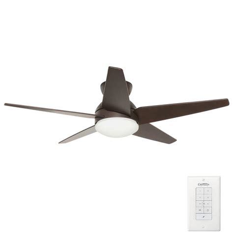 Casablanca Ceiling Fan Wall by Casablanca Isotope 52 In Indoor Brushed Cocoa Bronze