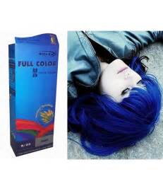 permanent blue hair color permanent bright color hair dye brown hairs