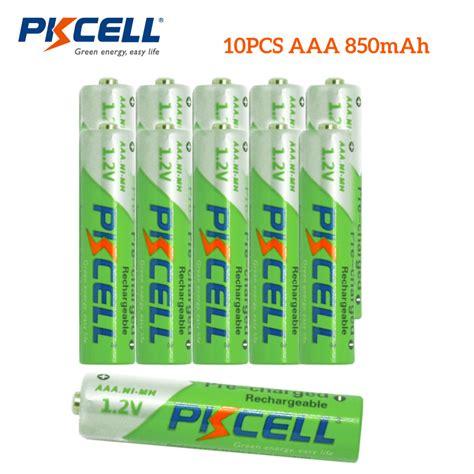 bat log in aaa 1 2v ni mh 1200 mah 10pcs pkcell aaa battery 1 2v ni mh 850mah pre charged lsd