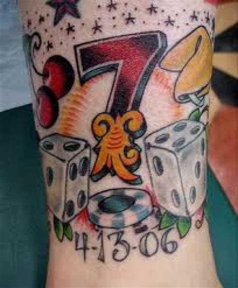 lucky tattoo designs lucky tattoo symbols and ideas