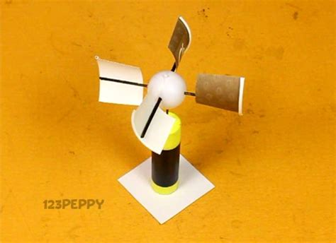 How To Make A Paper Wind Turbine - make and play crafts project ideas 123peppy