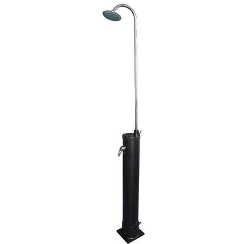outdoor solar shower kit poolscape solar outdoor shower bunnings warehouse