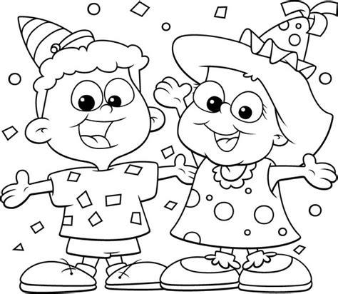 imagenes de fiestas judias para colorear ni 241 os en fiesta para colorear imagui