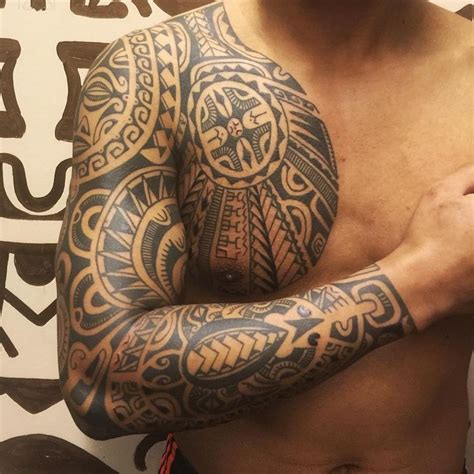 samoan warrior tribal tattoos 44 best maori images on polynesian