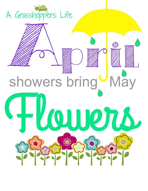April Showers Bring by Free Clipart April Showers Bring May Flowers Style