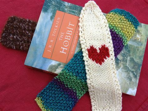 knitted bookmarks knitted bookmark patterns crafts