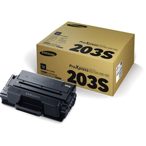 Samsung Toner Cartridge 3k M3870fd samsung mlt d203s 3k black toner cartridge mlt d203s xaa b h