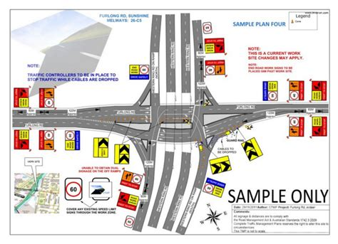 site traffic management plan template traffic plans