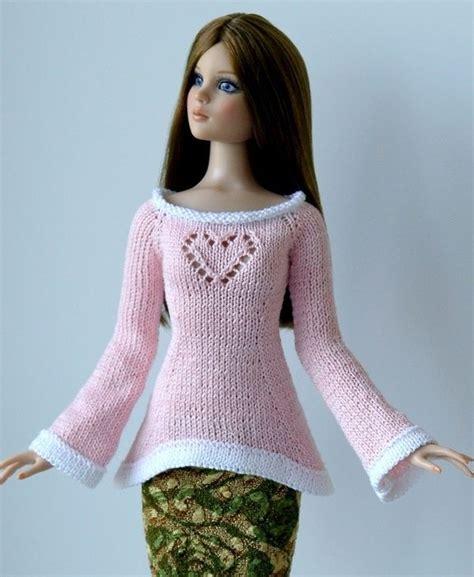 fashion doll knitting 116 best knitting other fashion dolls images on