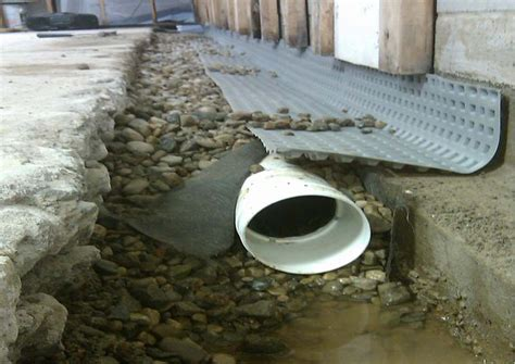yard drainage water in basement and hydrostatic pressure