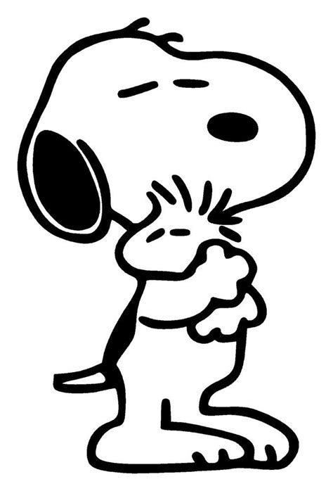 snoopy and woodstock coloring pages coloring home