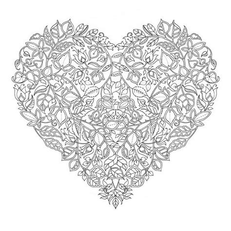 hard coloring pages of hearts 23 best abstract coloring pages images on pinterest