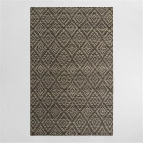 Living Spaces Area Rugs 5ftx8ft Gray Tonal Flatweave Wool Galen Area Rug Rug Features Wool Rug And Living Rooms