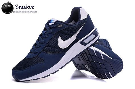 navy blue athletic shoes 2016 fashion nike nightgazer mens running shoes navy blue