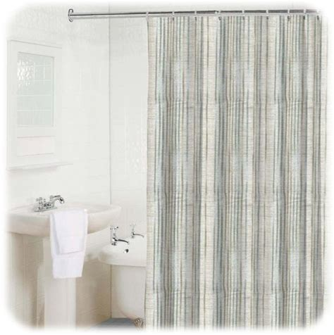gray striped shower curtain new bamboo stripe light blue white gray shower curtain