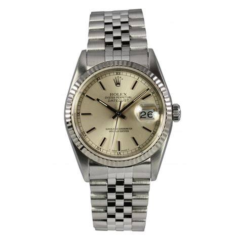 rolex pre owned mens oyster perpetual datejust 16234