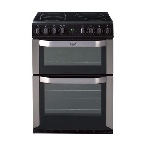 oven electric range with induction cooktop freestanding 60cm multi function oven with