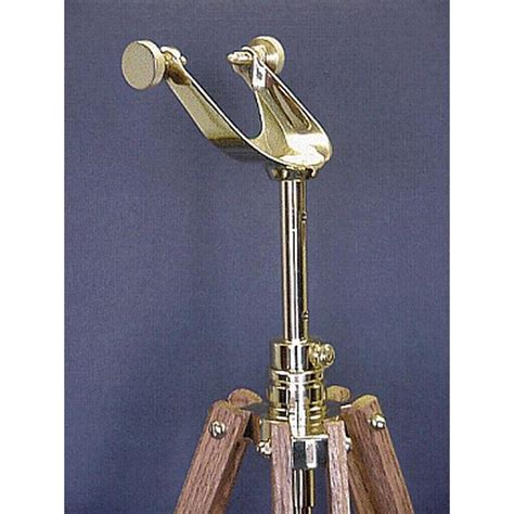 cape cod brass the glass eye cape cod brass tripod made of teak