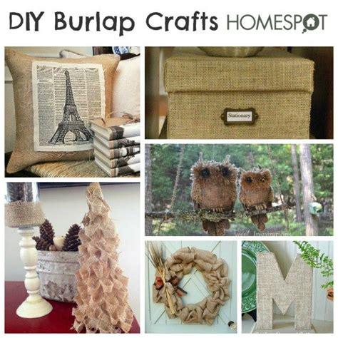 burlap diy projects diy burlap crafts homespot hq