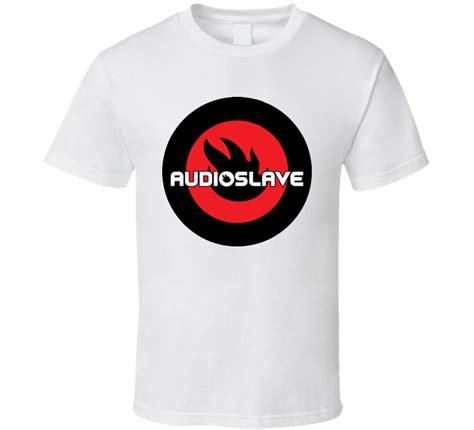 Audioslave Logo 1 T Shirt audioslave rock band logo t shirt