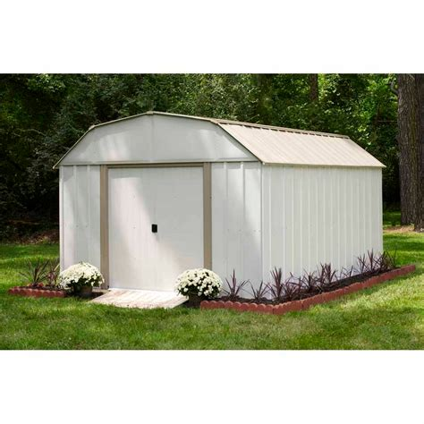Garden Storage House Arrow 10 X 12 Barn Roof Storage Building Shop Your Way