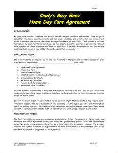 Daycare Contract Template by 8 Daycare Contract Template Timeline Template