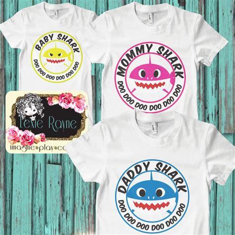 baby shark shirt daddy shark mommy shark baby shark papa bear shark