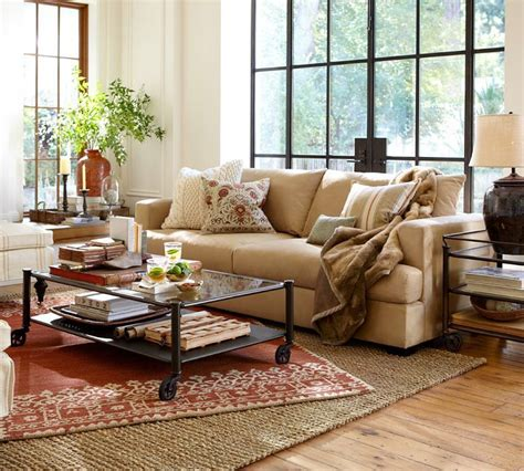 pottery barn living room to nest living rooms