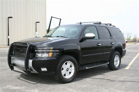 2007 chevy tahoe package 2007 chevy tahoe z71 offroad package
