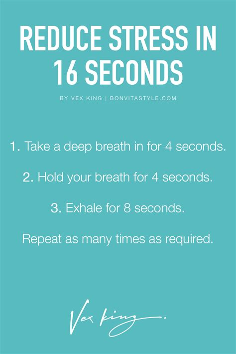 reduce anxiety a trick to reduce stress in only 16 seconds works great