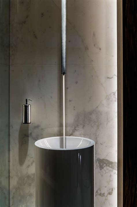 Modern Grey Bathroom Accessories Stunning New York Residence Showcases Unobstructed Views