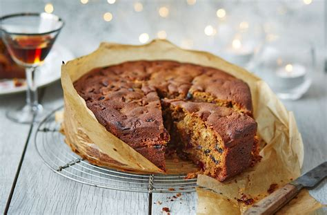 tesco christmas food nut free cake recipe tesco real food