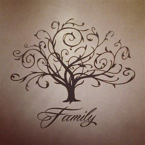 my family tattoo designs family tree needs color and some birds tatty