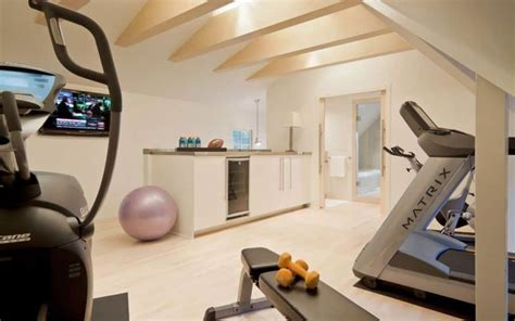 design your own home gym attic home gym with white walls create your own home gym