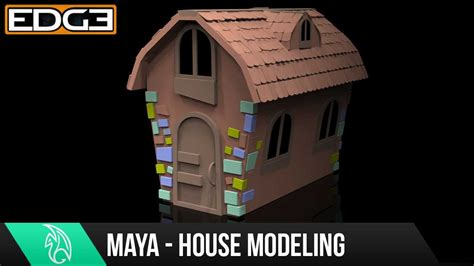 3d house animation youtube 1 maya for beginners modeling a cartoon house tutorial