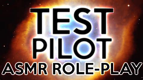 test pilot animated asmr play
