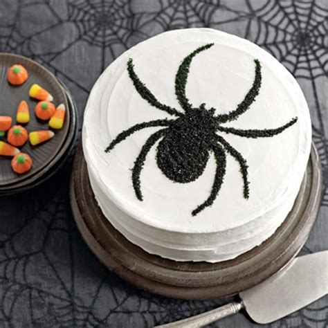 sweet treat tuesday black  white spider cake countdown  halloween  tiny tiara