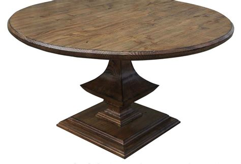 handmade algonquin trestle dining table by mortise