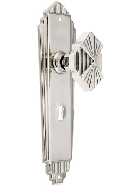 art deco pulls 36 best art deco door hardware images on pinterest