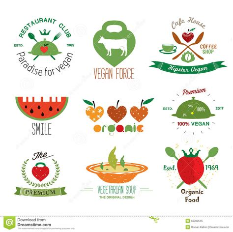 z y fruit company russia set of vintage organic vegan labels logos and design