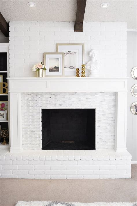 Paint Marble Fireplace by 9 Awesome Fireplace Makeover Projects Decorating Your