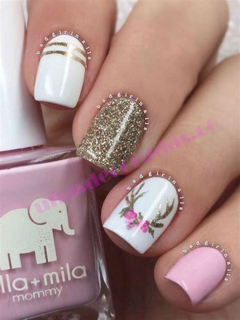 imagenes de uñas gelish decoradas m 225 s de 25 ideas incre 237 bles sobre u 241 as decoradas 2017 en